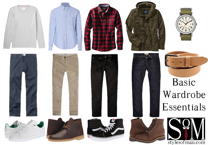 Men 39 S Wardrobe Essentials Styles Of Man