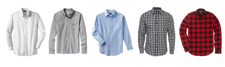 men's wardrobe essentials shirts