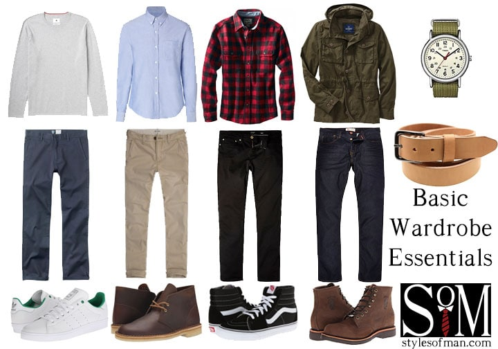 48aac3c81 Men's Wardrobe Essentials • Styles of Man