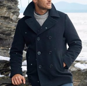 men's winter fashion peacoats
