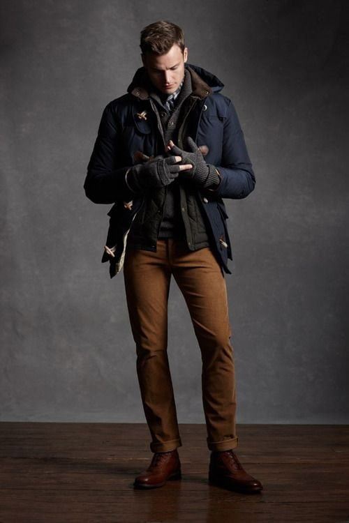 men's winter fashion outfit