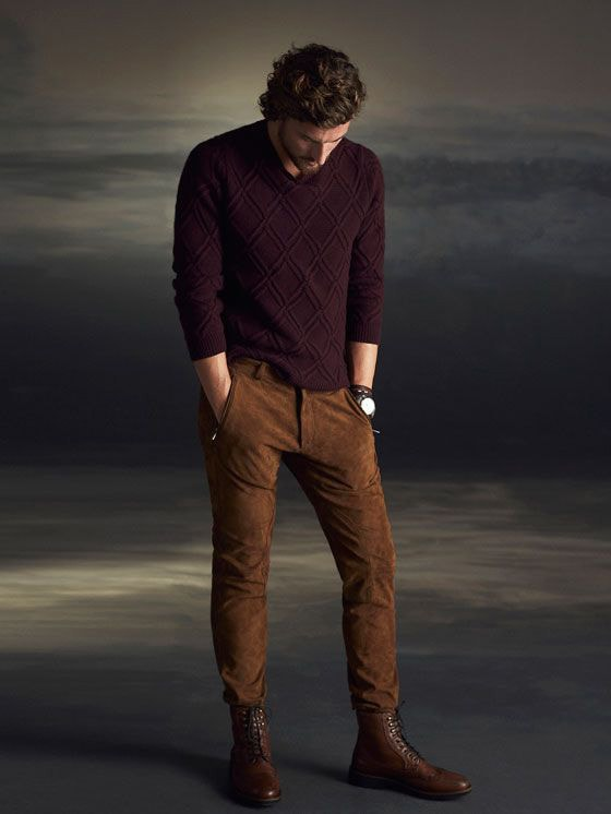 men's winter fashion sweaters