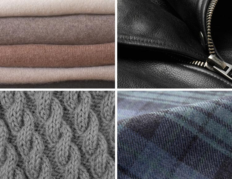 men's winter fashion fabrics