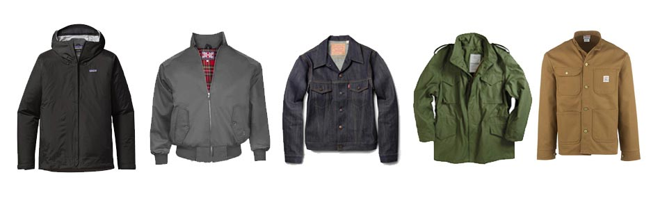 men's winter wardrobe essentials jackets
