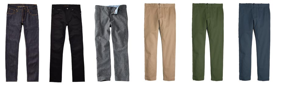 men's winter wardrobe essentials pants