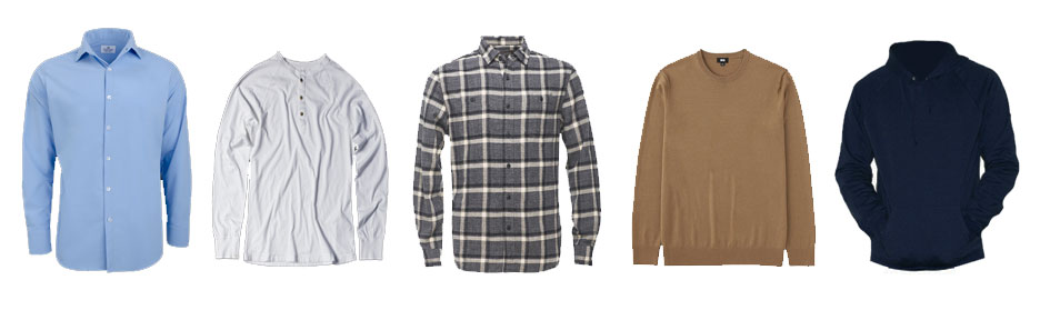 men's winter wardrobe essentials shirts
