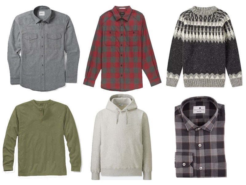 men's winter fashion shirts
