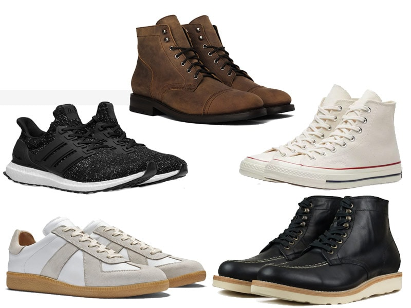 men's winter fashion boots and sneakers