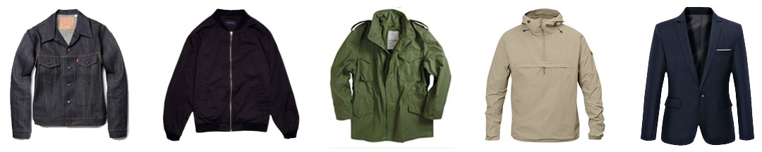 men's spring fashion jackets