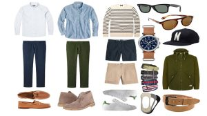 Men's Spring Wardrobe Essentials