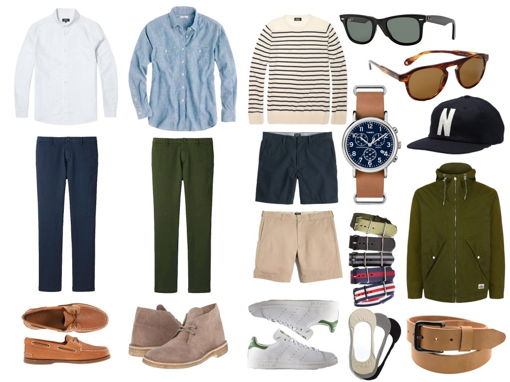 men's spring fashion essentials