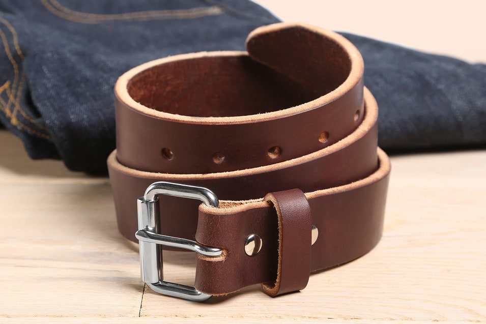 fall fashion orion leather belt