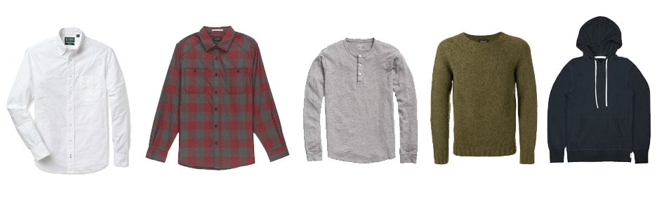 fall fashion shirts and sweaters