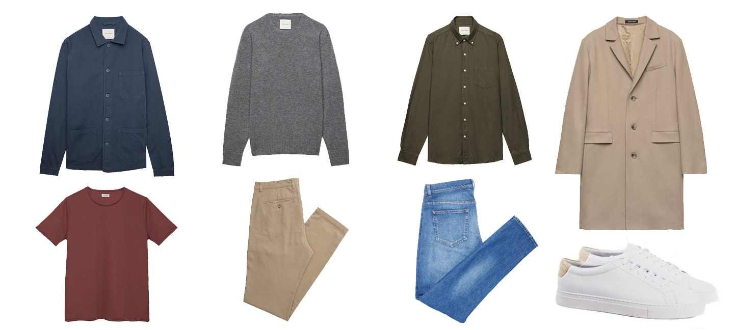 a days march clothing selection
