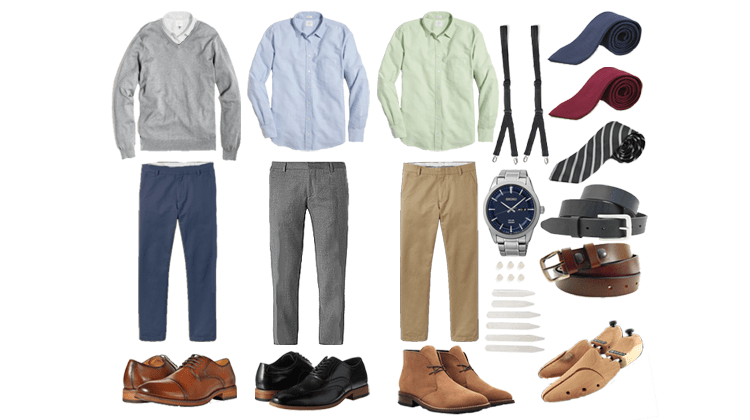A Visual Guide to Business Casual for Men