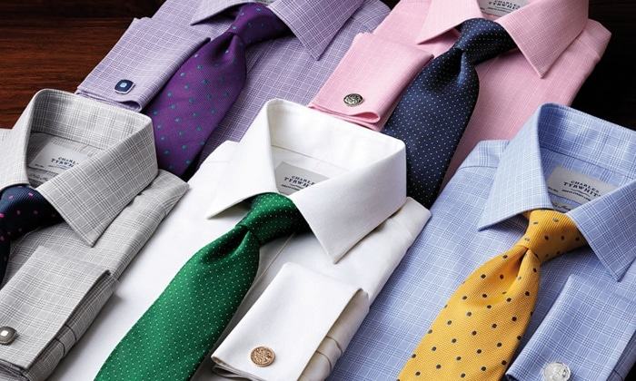 Charles Tyrwhitt business casual shirts