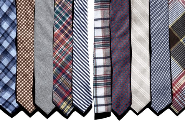 types of mens ties business casual