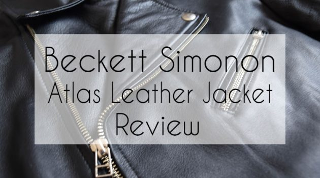 Beckett Simonon Atlas Leather Jacket Review 2018