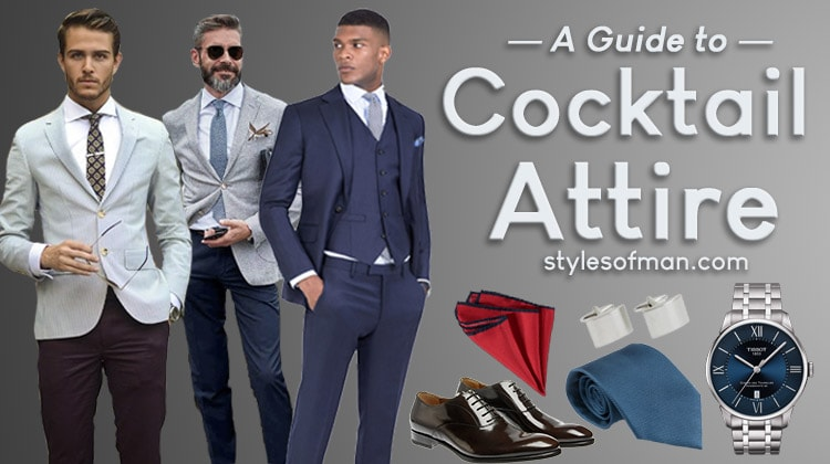 Cocktail Attire For Men Dress Code Guide And Do S Don Ts Styles