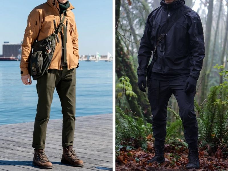 Outdoor Techwear Clothing Outfits