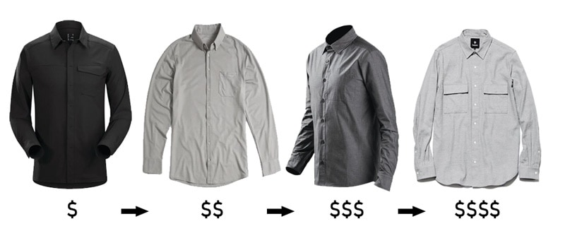 Techwear Clothing Shirts