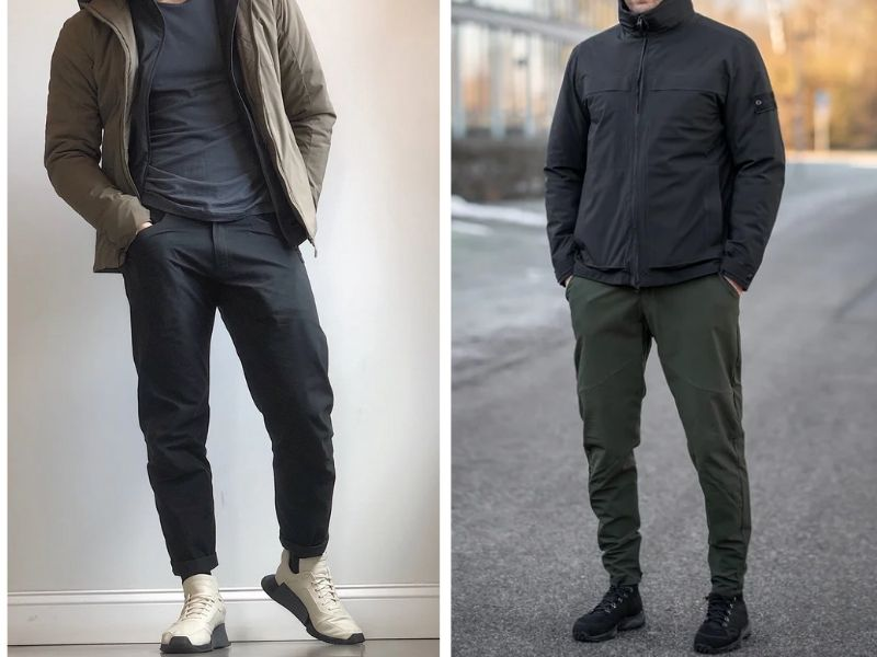 Gray Man Techwear Clothing Outfits