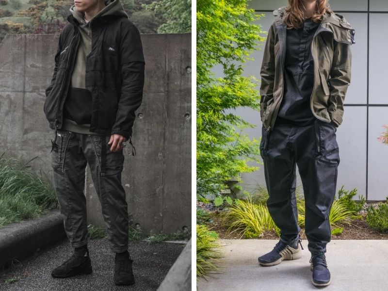 Weekend Warrior Techwear Outfits