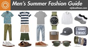mens summer fashion essentials