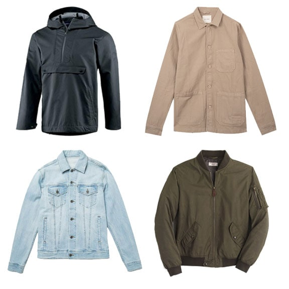 men's summer lightweight jackets