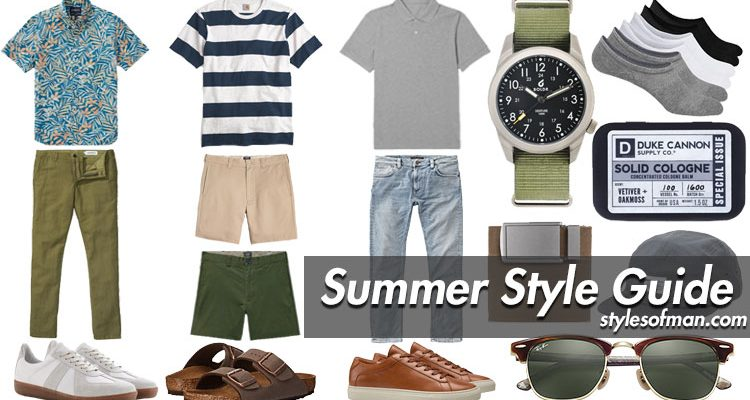 men's summer fashion wardrobe