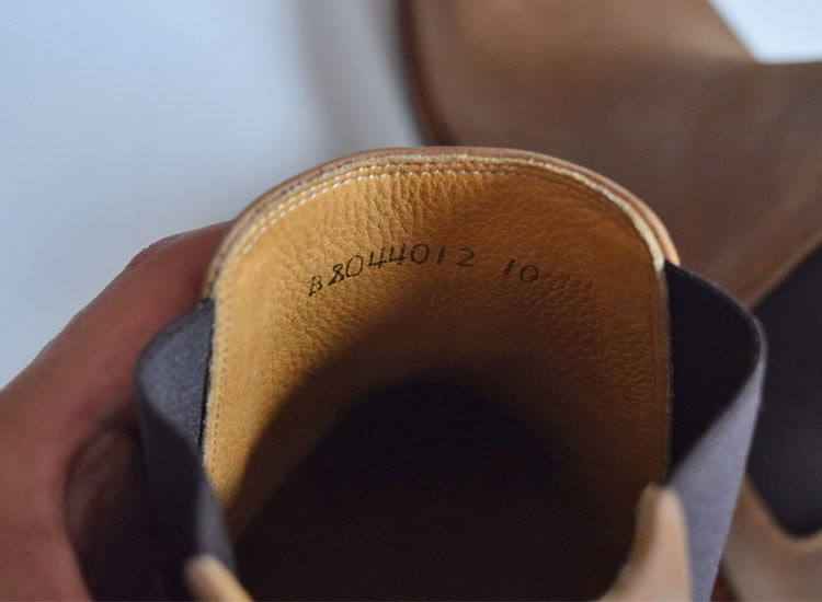Chelsea Boot Lining