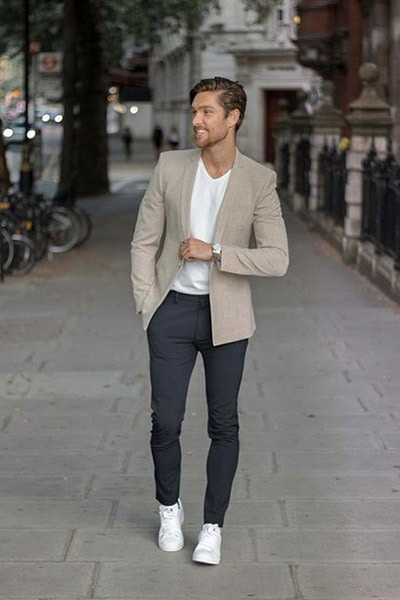 blazer smart casual outfit