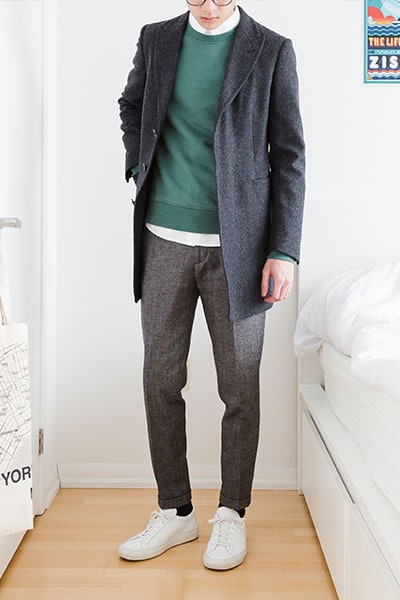 overcoat outfit