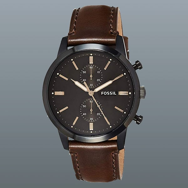 men's Fossil Townsman Steel watch