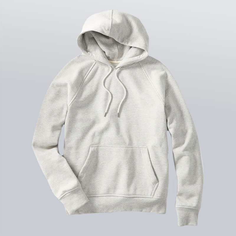 men's capsule wardrobe fleece hoodie