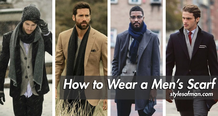 How to Wear a Men's Scarf