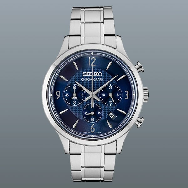 men's Seiko Conceptual Chronograph watch