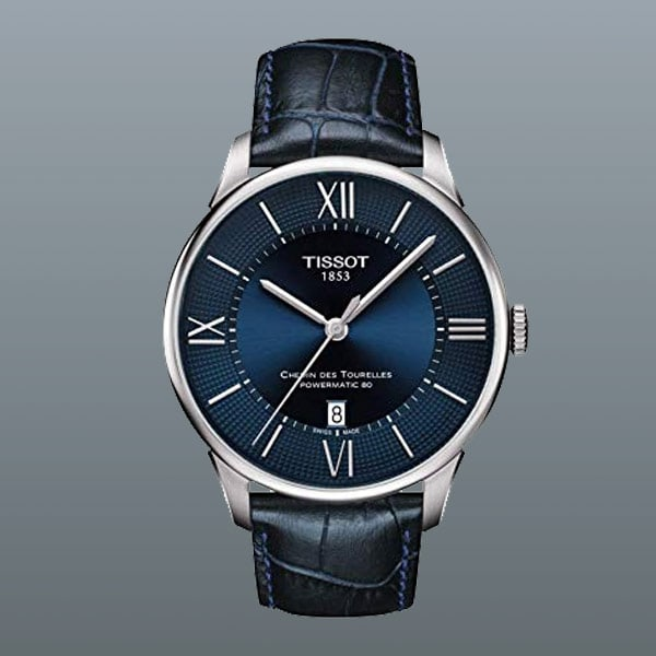 men's Tissot Chemin des Tourelles watch