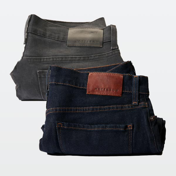 mott and bow slim denim