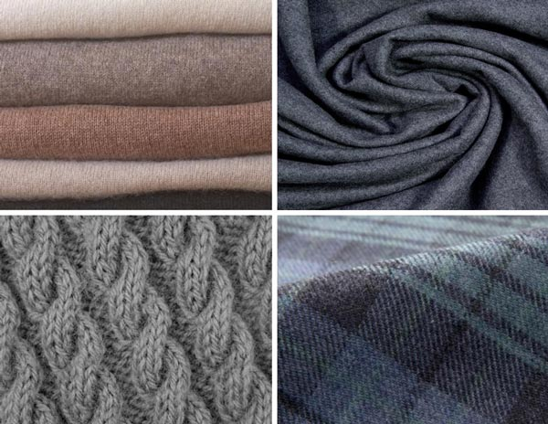 types of scarf fabrics