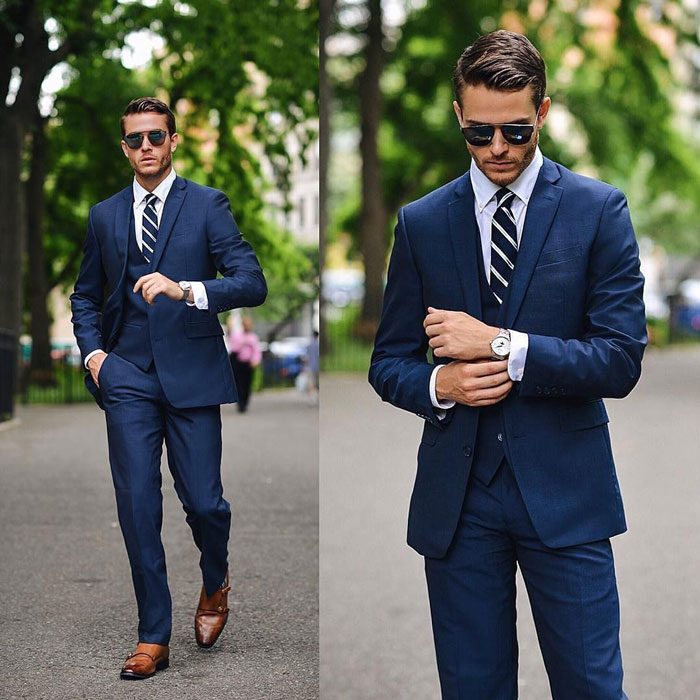 semi formal attire for men suit