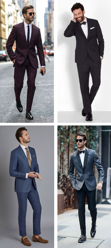 men's semi formal dress code outfits