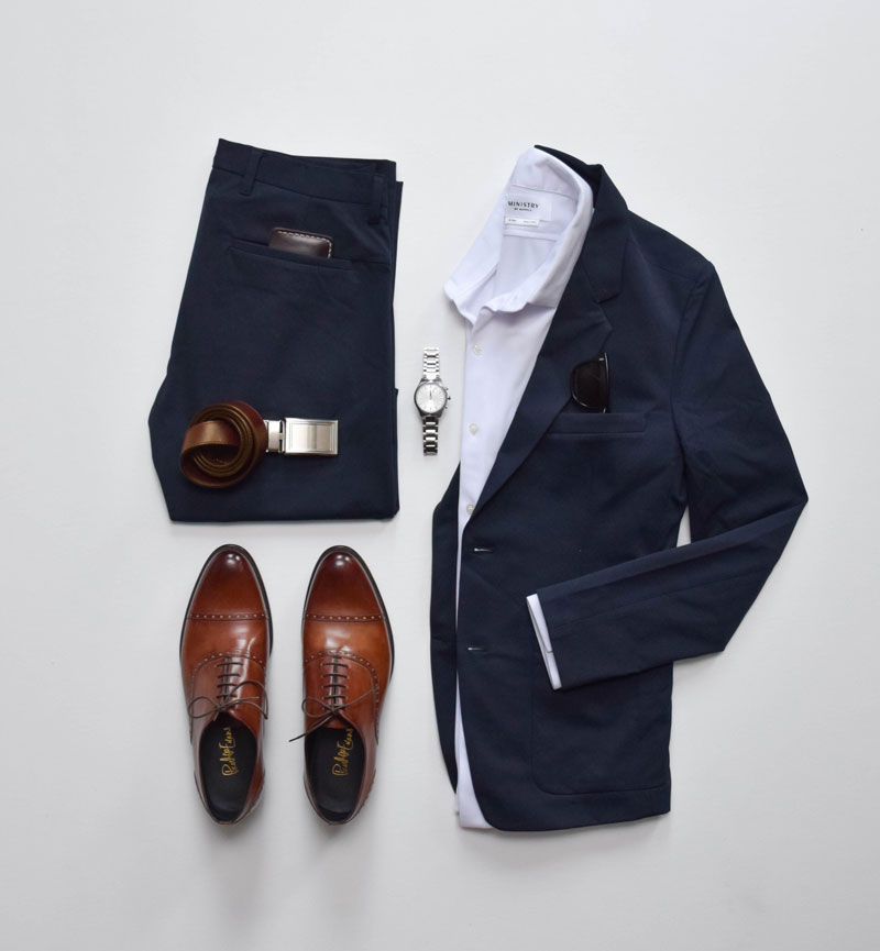 semi formal outfits for men