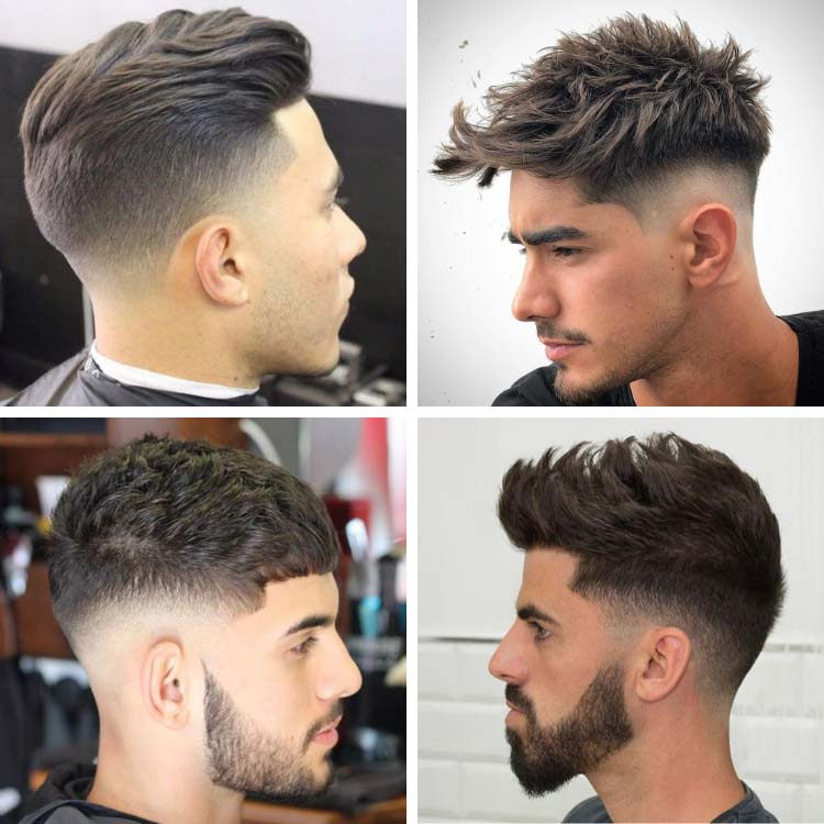 mid fade haircut styles