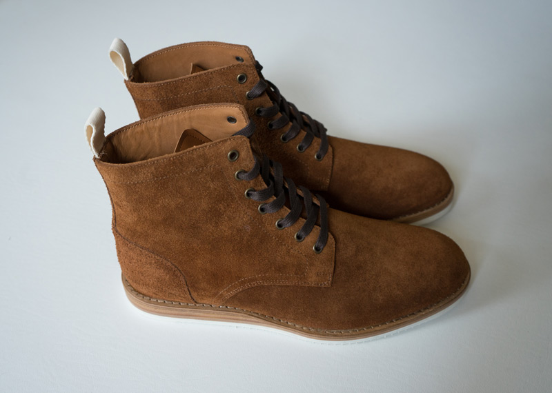 Oliver Cabell Prairie Roughout boots