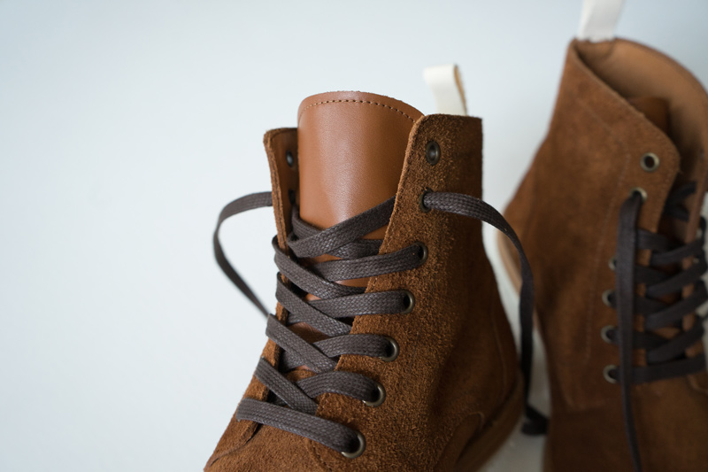 Oliver Cabell Prairie Roughout Boots leather