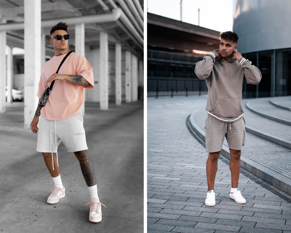 Men's Sweat Shorts Casual Summer Outfits