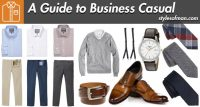 business casual attire men